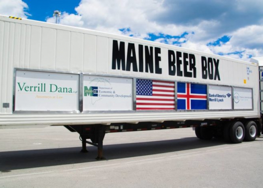 Maine Beer Box Truck